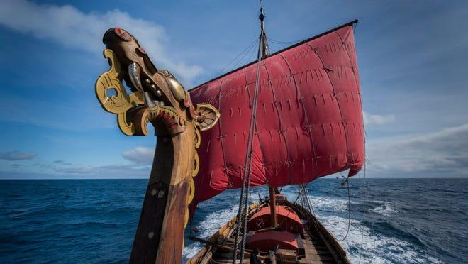 The Viking longship Draken Harald Harfagre will be in Ocean City soon. GANNETT FILE IMAGE