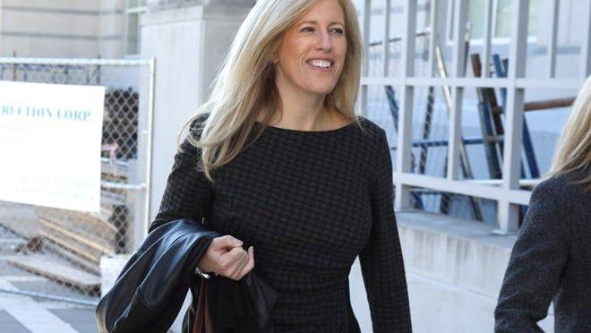 Deborah Gramiccioni outside federal court on Oct. 11, 2016.