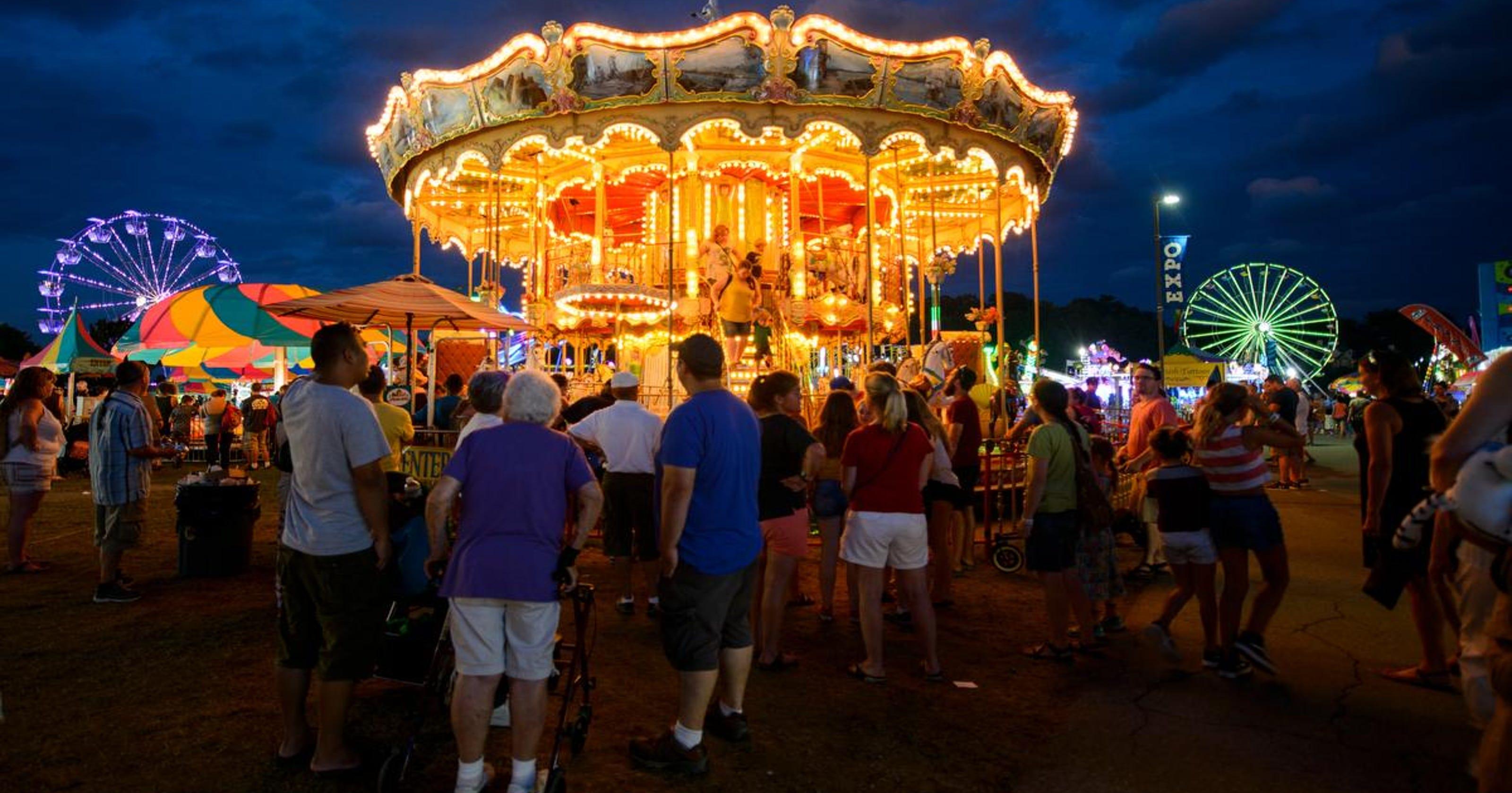 Photos Champlain Valley Fair At Night