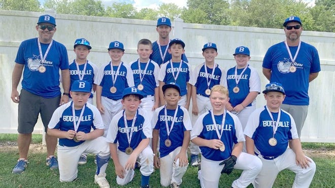 The Boonville 9-year-old All-Stars finished in third place with a record of 3-3 last weekend while competing in the Missouri Cal Ripken 9-year-old State Tournament in Scott City. The Boonville 9 All-Stars avenged an earlier loss by beating Sikeston in the third place game 18-10.
