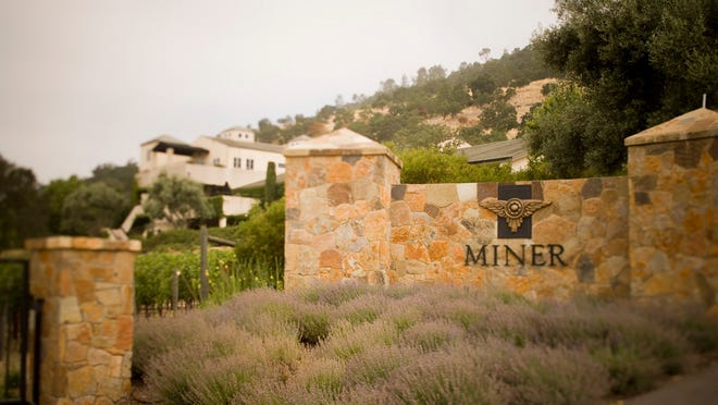 Miner Family Winery of the Napa Valley is solar-powered, and wines age in 20,000 square feet of hillside caves.