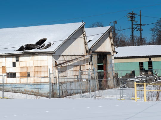 The buildings that housed Domestic Casting Company, North Queen Street, Shippensburg, will soon be demolished.