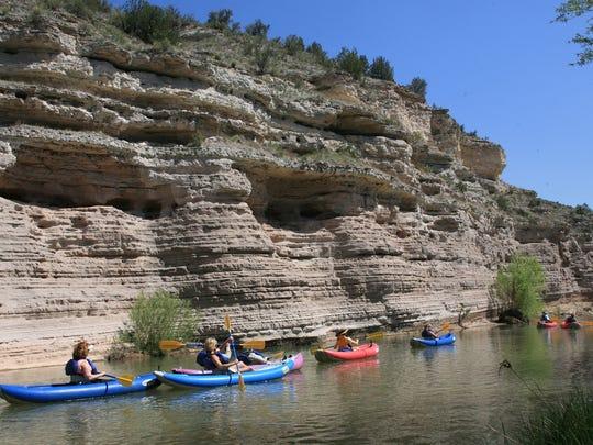 kayaking trip down the Verde River
