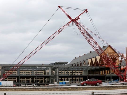 Acuity's expansion to its Sheboygan campus continues
