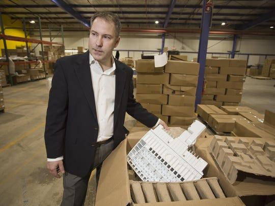 Tim Wasmer, president of ePower Manufacturing in Sheboygan,