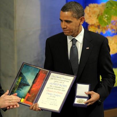 Obama should give back his Nobel: Column