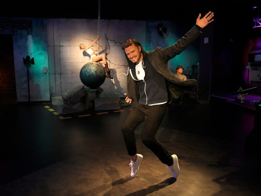 The Madame Tussauds Nashville wax figure collection includes Justin Timberlake making one of his signature dance moves.