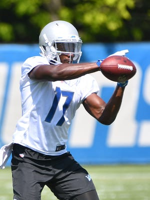 Lions wide receiver Andy Jones joined the active roster Saturday.