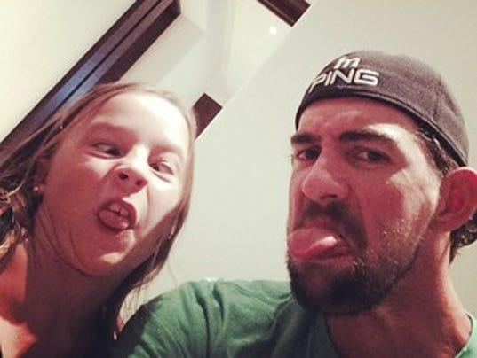 Michael Phelps Selfie