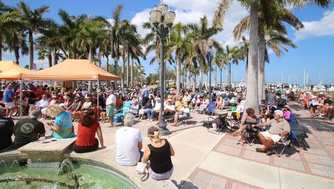 The Fort Pierce Jazz &Blues Society will have delicious food and refreshing beverages available at this year'sWaterside Blues Festival from1 to5 p.m. Nov. 19 on the waterfront at Melody Lane in beautiful downtown Fort Pierce.