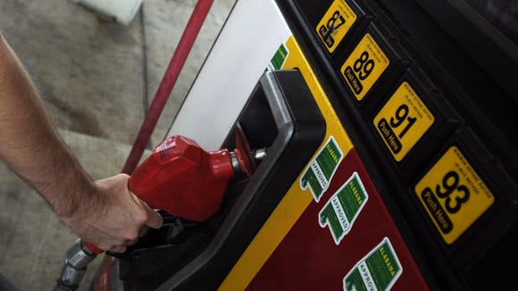 Gas prices jumped briefly in early October.