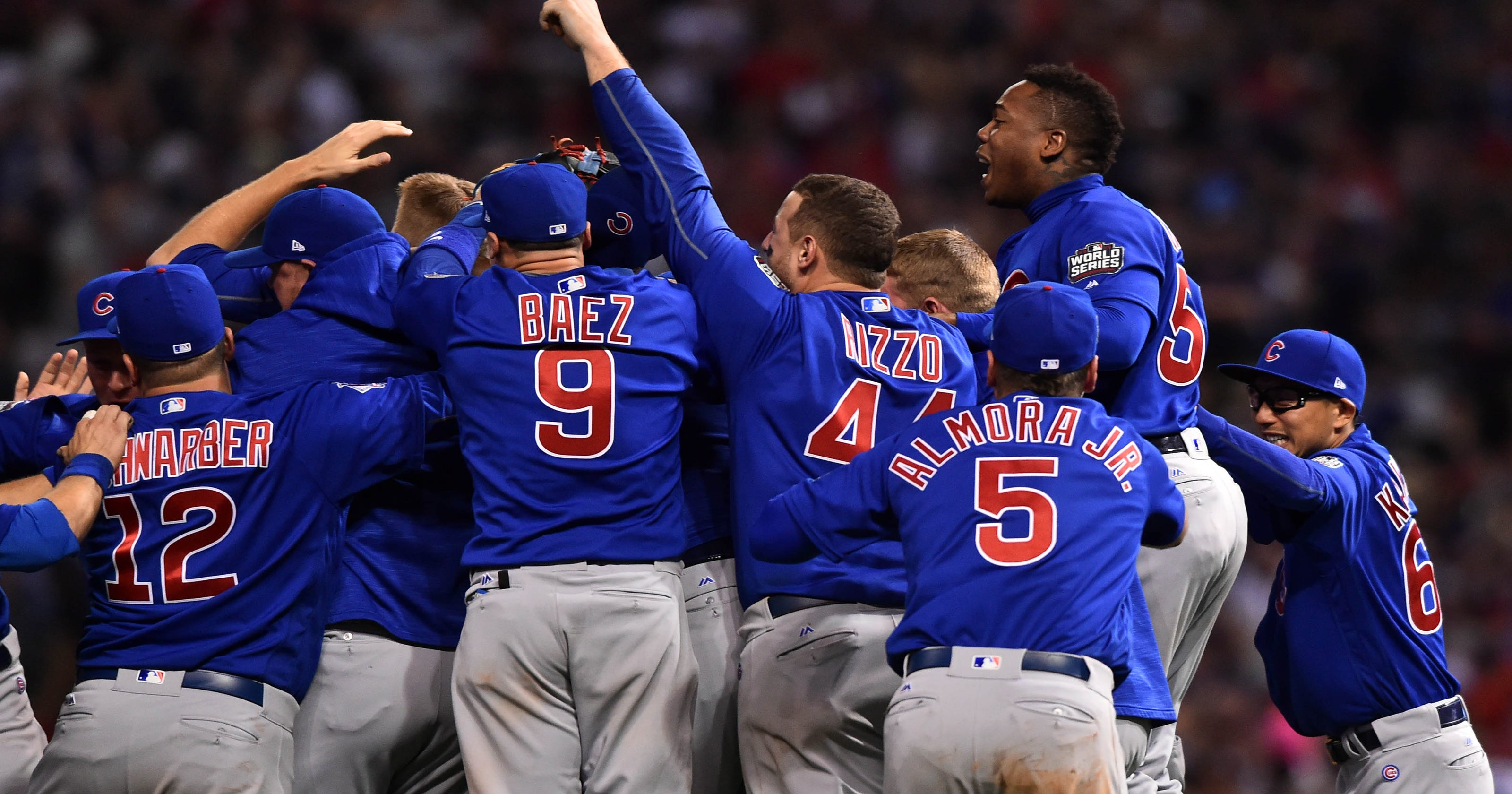 d021dcd71 Reign men  Cubs  killed the curse  with epic Game 7 victory in World Series