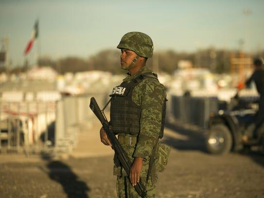 En Juárez, la seguridad está al máximo por la llegada