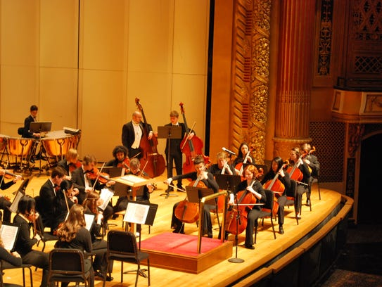 The Evansville Philharmonic Youth Orchestra will perform
