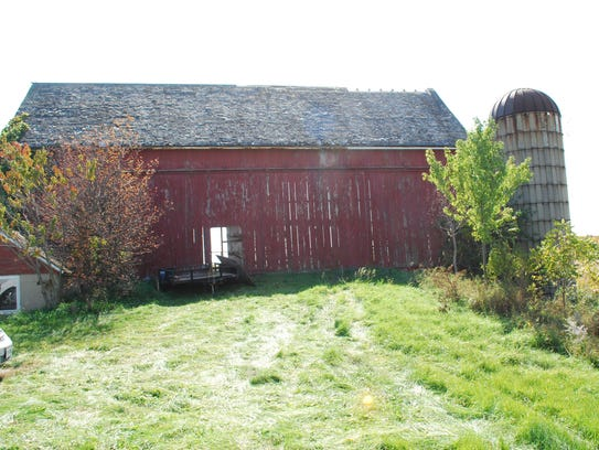 The Wendt family barn, 3617 W. Oakwood Road, was donated