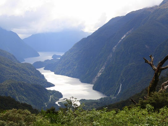 Doubtful Sound is a large and naturally imposing fiord