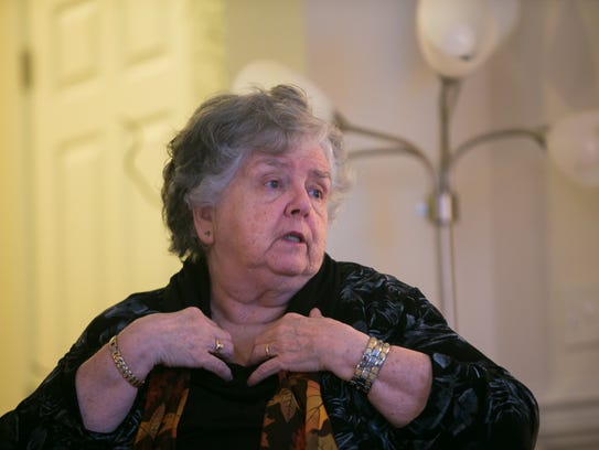 Sr. Jeanne Cashman is a member of the God Squad.
