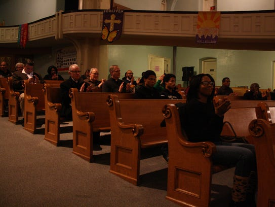 About 50 people attended the Dr. Martin Luther King,
