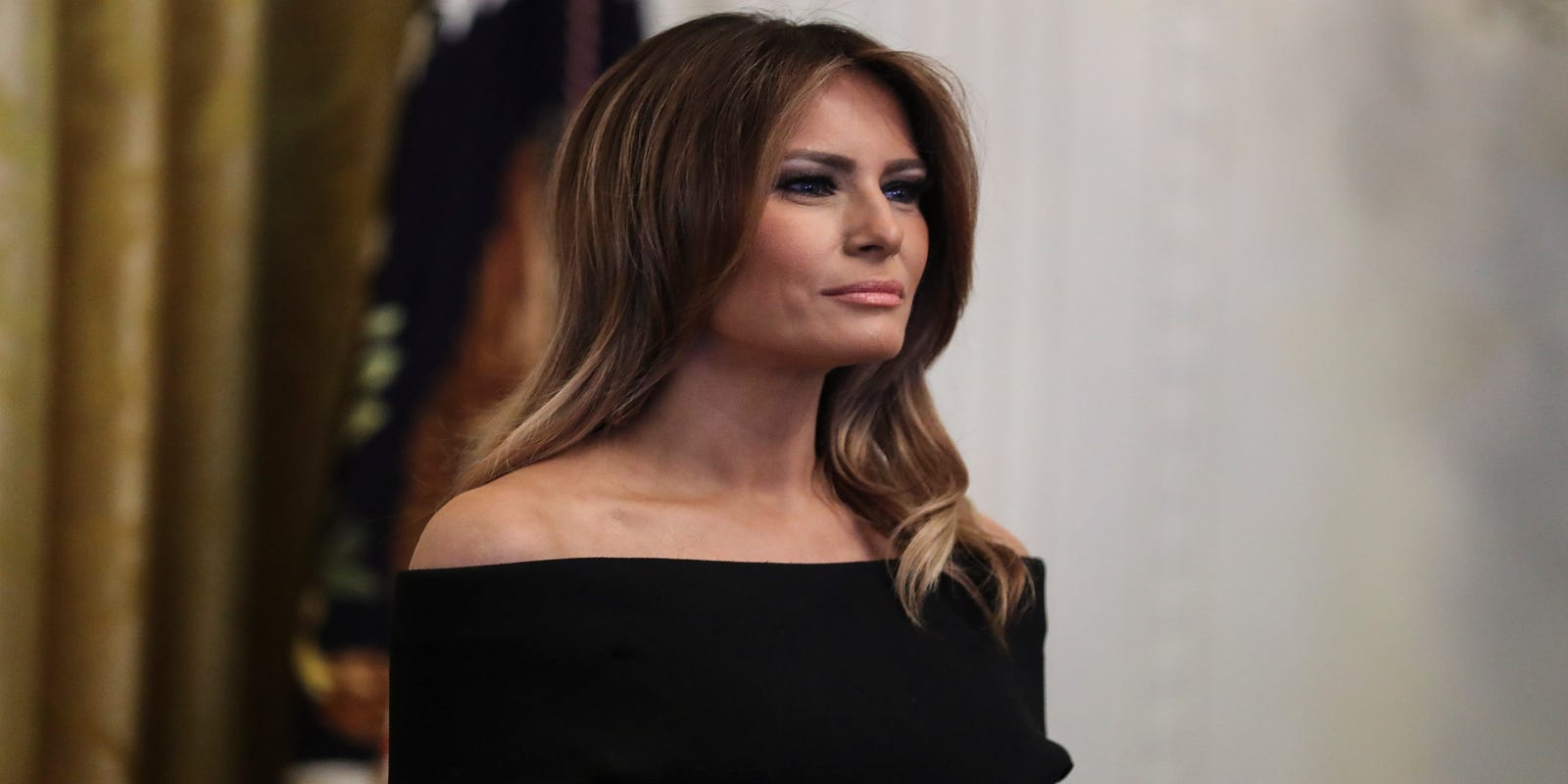 e91f0e9db08 Melania Trump rings in 2019 with a sparkly New Year s selfie