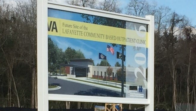 The new VA clinic in Lafayette will be located on Ambassador Caffrey.