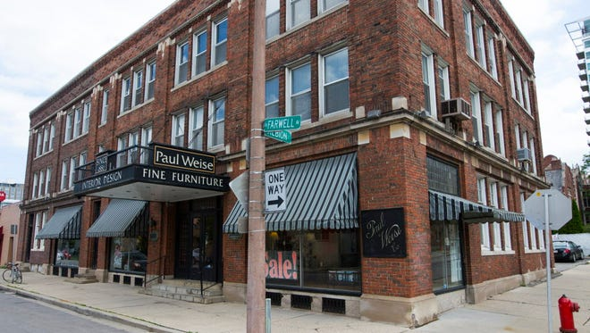 Paul Weise Furniture might be razed and replaced with an apartment development.