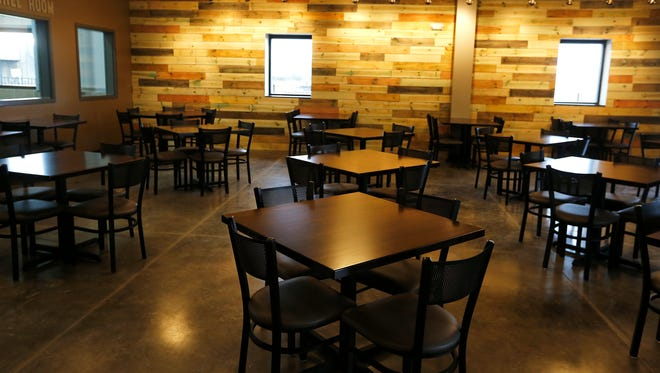 Rivertown Brewery and Barrel House will have it's grand opening at their new location in Monroe. Rivertown's first location is in Lockland. Photo shot Tuesday January 17, 2017.
