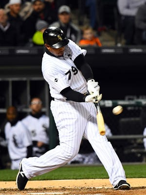 Jose Abreu hit an RBI single with one out in the bottom of the 11th inning.