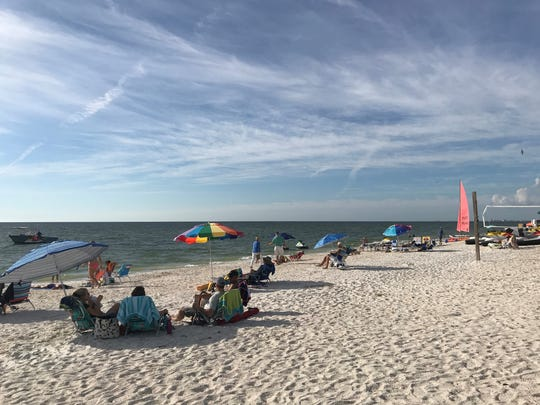 During season in SWFL, the weather is nicer. Both residents and seasonal residents can enjoy a breezy day at the beach.