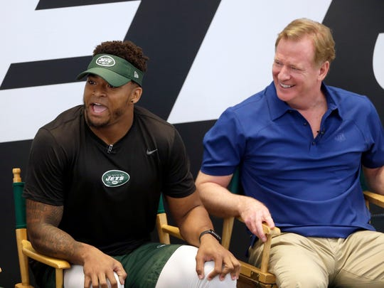 Jamal Adams Roger Goodell