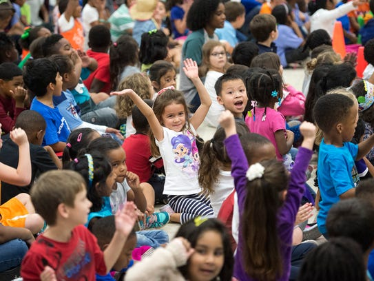 Students react as Collierville Schools superintendent