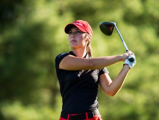 Colts Neck grad Emily Mills golfing for Rutgers