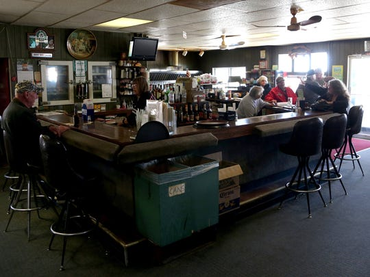 Day or night Larry Sevenski's Inn, a popular restaurant and bar in Elmira, Michigan on Wednesday, April 12, 2017 always has people in it eating or talking about life.Sevenski, 83 the owner had been at his preliminary hearing hours earlier in the courtroom of Judge Thomas J. Phillips the Antrim County courthouse in Bellaire, Michigan.He is facing felony charges for an altercation with two Michigan State Police officers on a road near his restaurant on St. Patrick's Day of this year. Sevenski was thrown to the ground by trooper Artfitch after he approached the trooper in an alleged threatening manner.The case was bound over for trial.