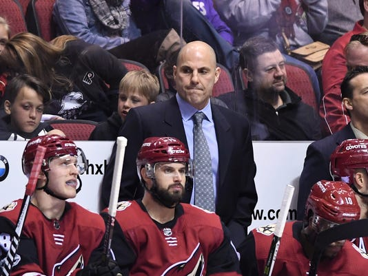 NHL: San Jose Sharks at Arizona Coyotes
