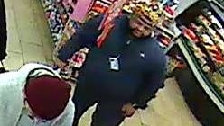 Keansburg police say the man pictured here stole a cellphone from the 7-Eleven on Main Street.