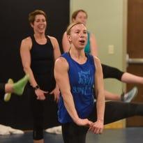 Working up a sweat through dancing