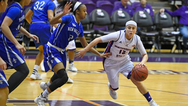 Northwestern State guard Janelle Perez plays her final home game on Thursday.
