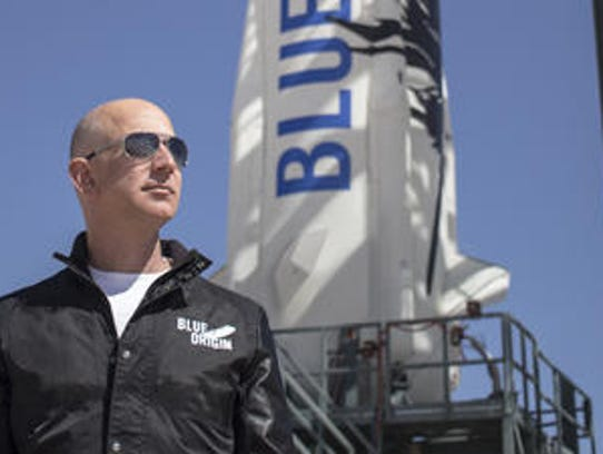 Jeff Bezos is the founder of Blue Origin and chief