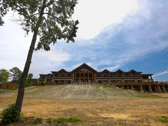 The lodge at Echo Bluff State Park will be the site