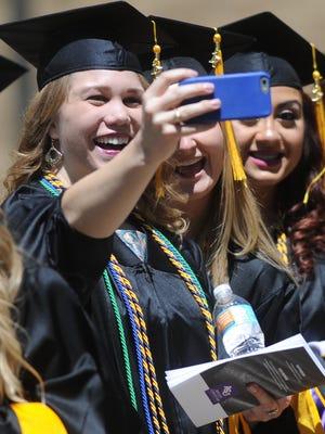 Abilene Christian University graduates Saturday, along with Hardin-Simmons and McMurry.