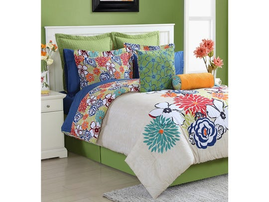 Fiesta's Lucia comforter set: $215-$250 at Macy's.