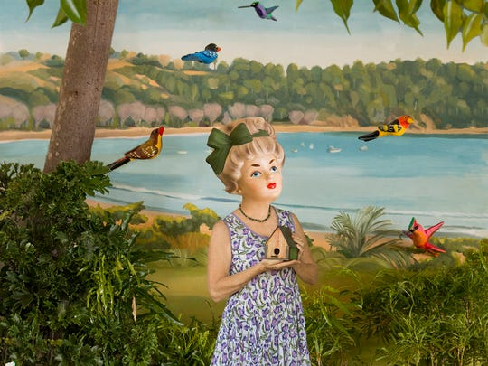 """Jill Kerwick, """"A New Home,"""" (2016) archival pigment print photo collage."""