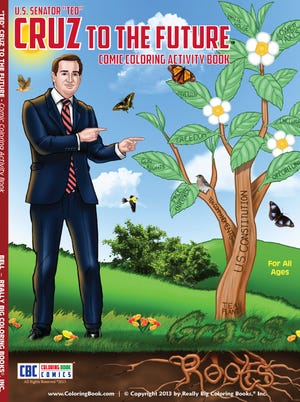 Really Big Coloring Books of St. Louis is out with a new book on Sen. Ted Cruz, R-Texas.