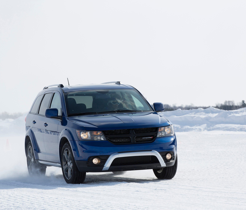 The 2015 Dodge Journey Crossroad.