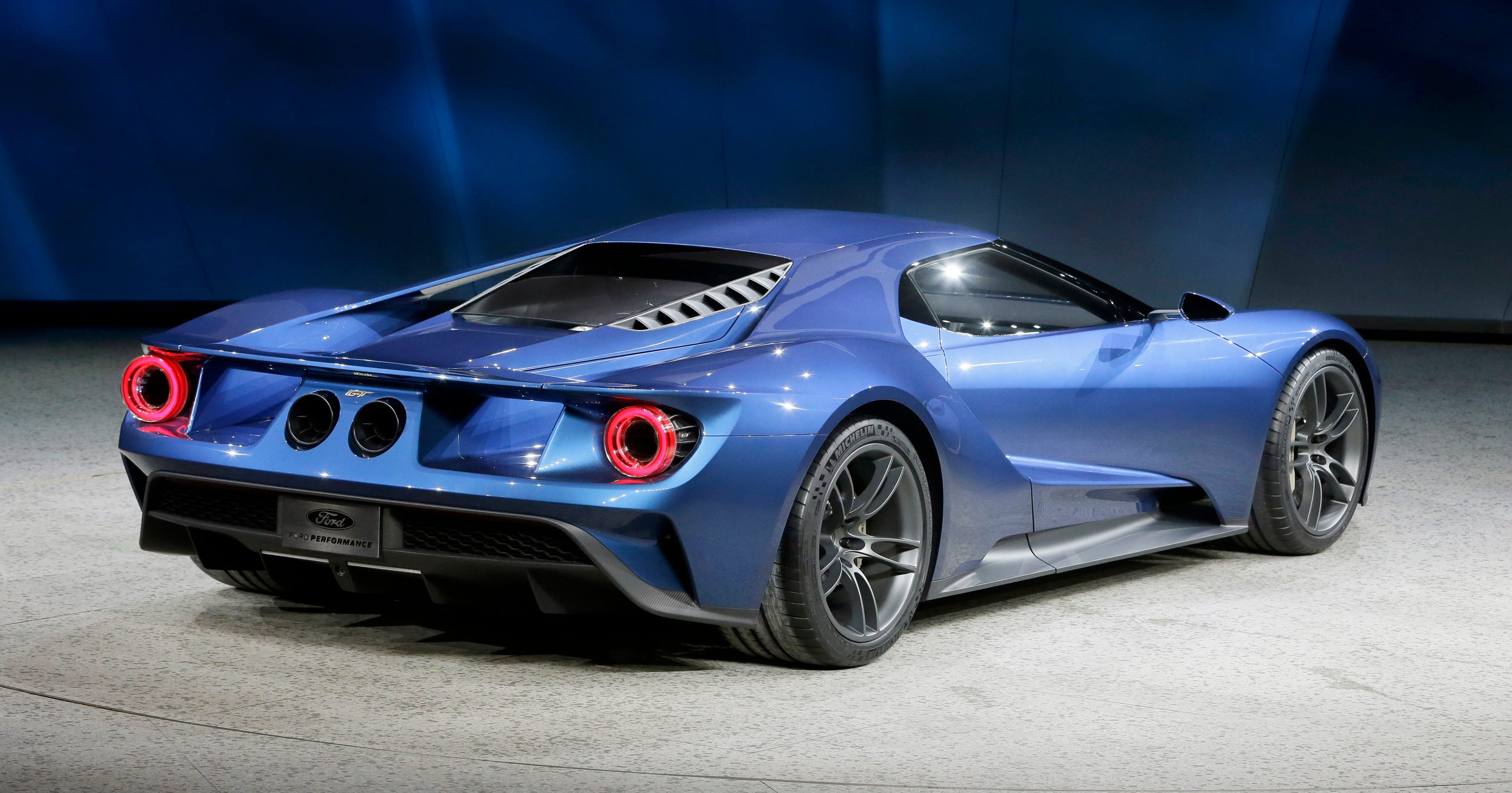Hot Ford GT To Be Priced About - Ford show car