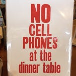 An item on sale at Flyleaf Books in Chapel Hill, NC.