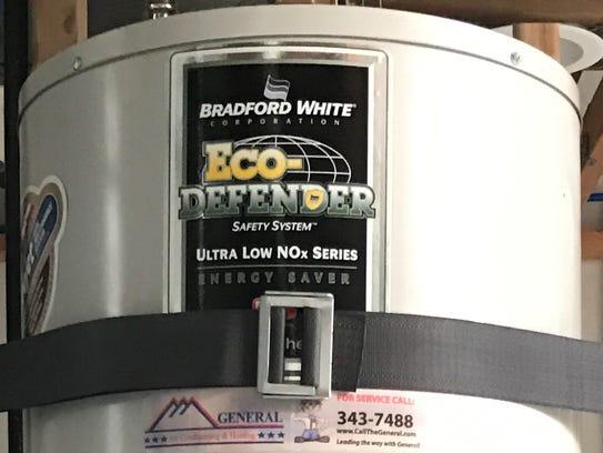 Water Heater Installed.