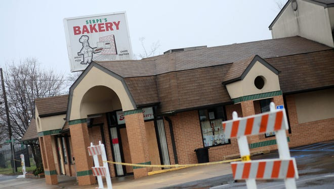 Serpe's Bakery in Elsmere has been condemned until further inspection after a fire broke out around 6 p.m. on Christmas Eve.