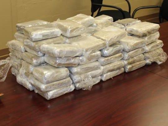 Eighty pounds of marijuana found by Rankin County deputies on a routine traffic stop.