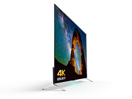 At its thinnest point, this Sony 4K TV is as thin as