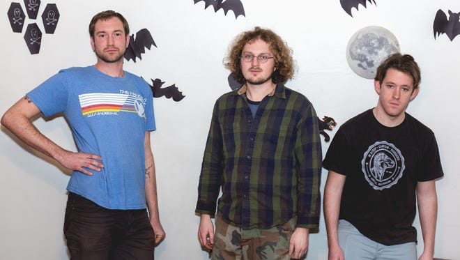 """Sleeping Bag previewed the song """"Touch of Gold"""" during the Feb. 8, 2018, episode of """"Dogfish Head Brewery presents IndyStar Sessions at Square Cat Vinyl."""""""